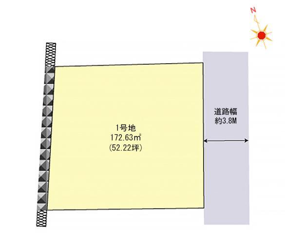 城南区梅林 区画図