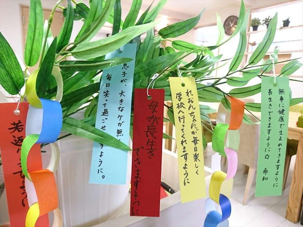 image 今日は七夕☆