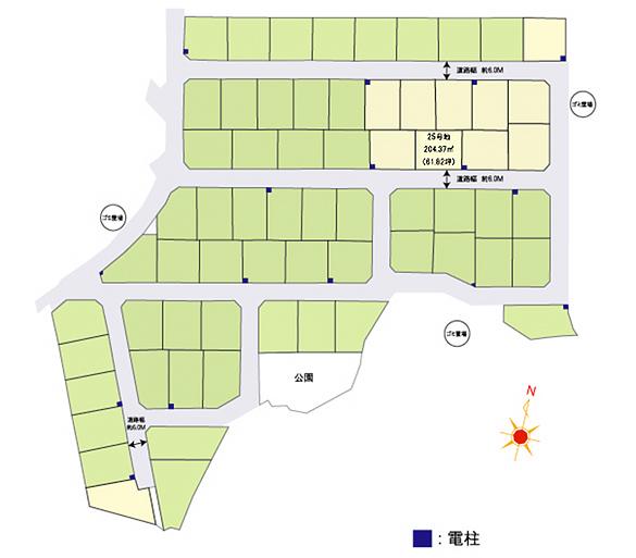 糸島市師吉 区画図