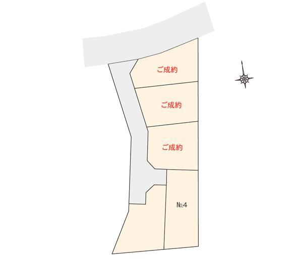 ジョイナス七隈2丁目 区画図