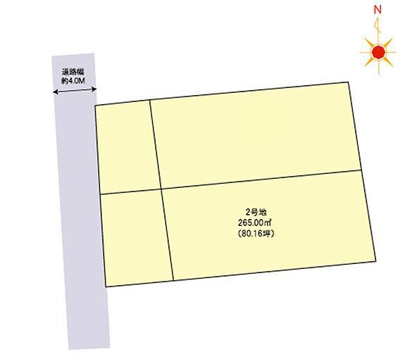 那珂川市松木3丁目 区画図