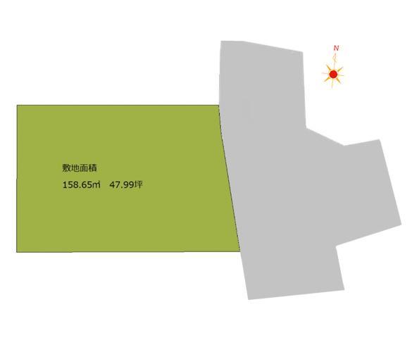 城南区樋井川1丁目 区画図