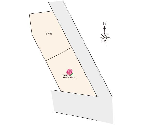 宇美中央1丁目 区画図