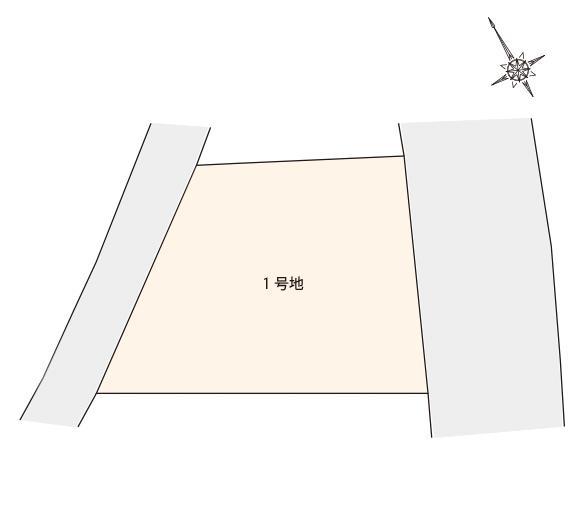 篠栗尾仲1丁目 区画図