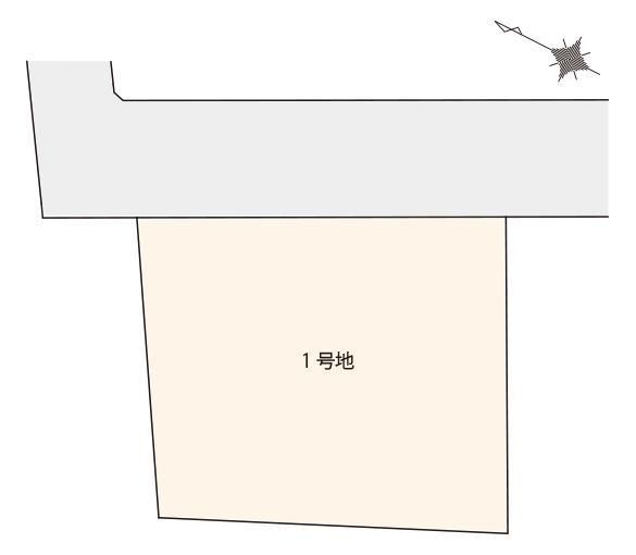 大野城市中央1丁目 区画図
