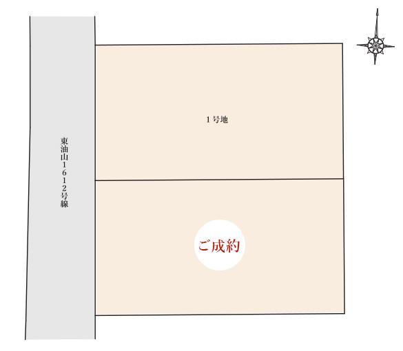 城南区東油山6丁目9番街区 区画図