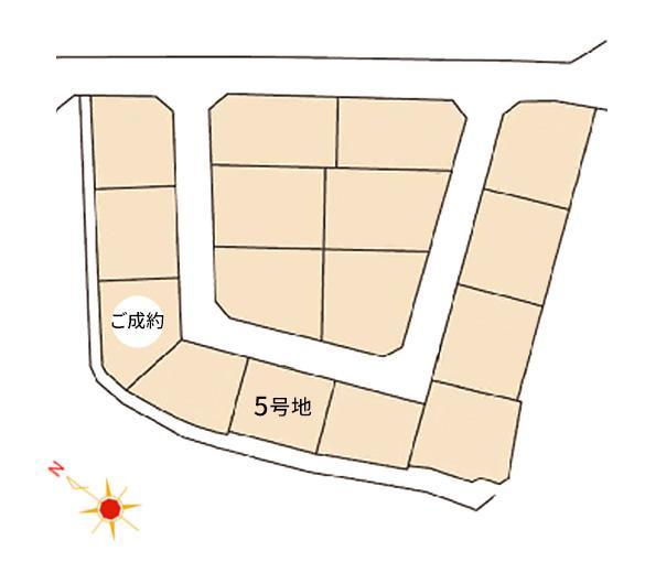 南区西長住2丁目 区画図